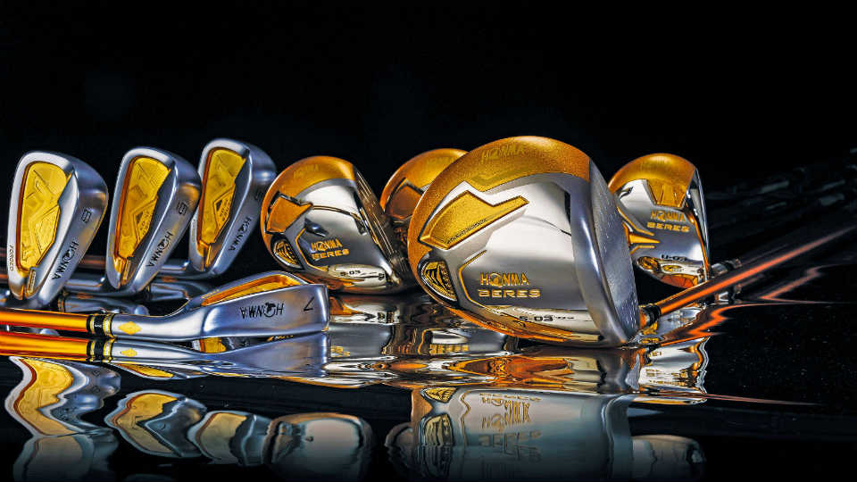 Honma's Five Stars Custom Set, Stick Golf Termahal di Dunia